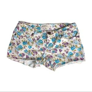 I Love H81 Floral Jean Shorts Size 26